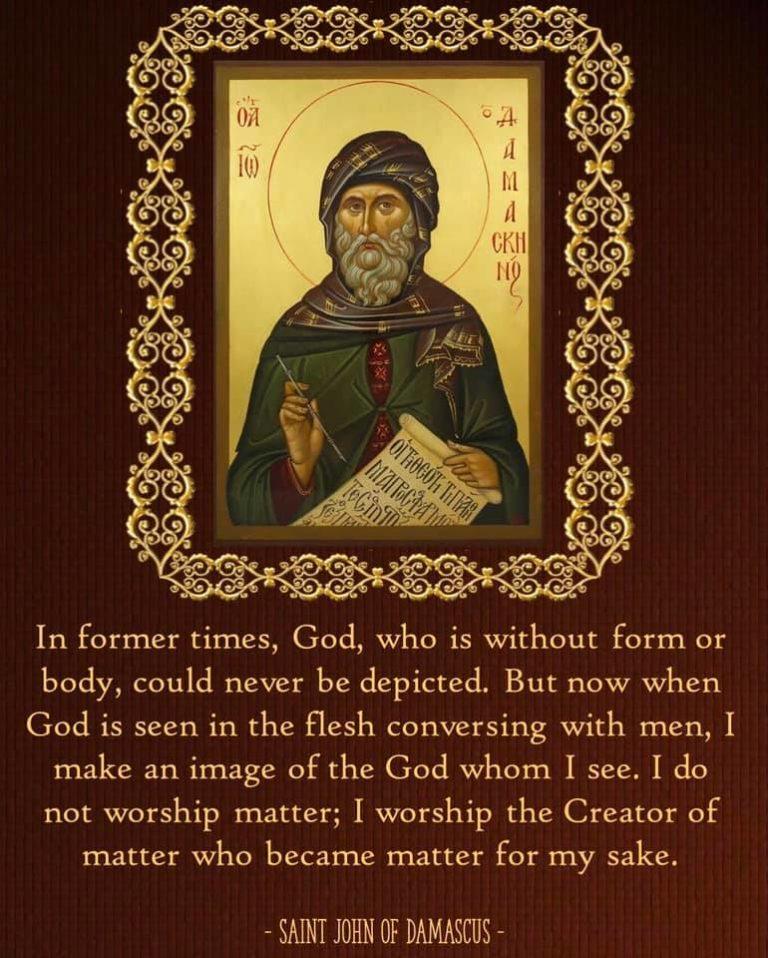 St. John of Damascus on the Holy Icons